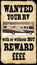 Wanted - Your RV - With or Without MOT - Reward £££